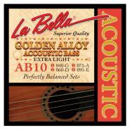 La Bella AB-10 Akustik-Bass Strings extra light