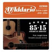 D'Addario EZ900 Acoustic Strings Extra Light