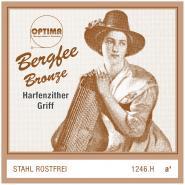 Bergfee Zither Griffsaite A Optima 1246.H
