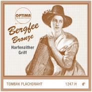 Bergfee Zither Griffsaite D Optima 1247.H