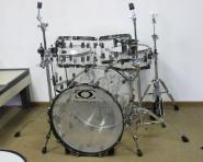 Drumcraft Serie 8 Fusion Drumkessel-Set Acryl transparent