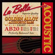 La Bella AB20 Acoustic Bass Strings