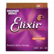 Elixir 16052 Acoustic Strings Light Coated