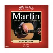 Martin M140 Acoustic Strings Light