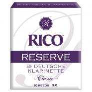 Rico Blatt B-Klarinette 3.0 Reserve Classic (10er Box)