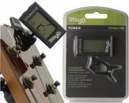 Stagg CTUH-C10 Clip Tuner mit Hygrometer