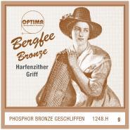 Bergfee Zither Griffsaite G Optima 1248.H