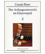 Peter Der Anfangsunterricht im Gitarrespiel 2