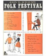 Folk Festival For Piano or Orgel - With Guitar Chords