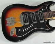 Hagstrom III SunBurst Vintage Elektro Gitarre