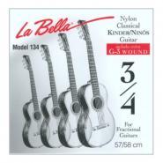 La Bella FG134 Classic Strings 3/4 Größe