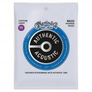 Martin M535 Acoustic Strings Custom Light