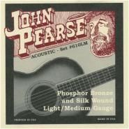 John Pearse 610 LM Silk & Steel Acoustic Strings
