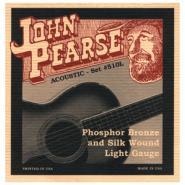 J.Pearse 510L Phosphor Bronze Silk Acoustic Strings