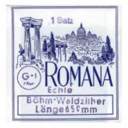 Romana Saitensatz Böhmwald Zither