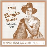 Bergfee Zither Griffsaite C Optima 1249.H