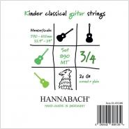 Hannabach 890MT Classic Strings 3/4 Größe