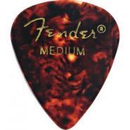 Plektrum Standard Celluloid, Stärke medium, Fender 098-0351-800