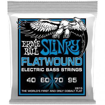 Ernie Ball EB2815 E-Bass Flatwound Strings
