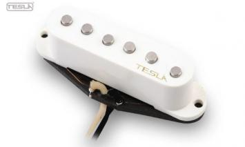 Tesla VR-1 Vintage Reflection Pickup Set weiß