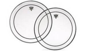 """Remo PS-0306-00 Drum Head 6"""" Pinstripe clear"""
