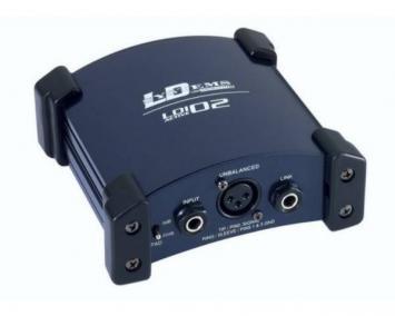 LD Systems LDI02 DI Box aktiv
