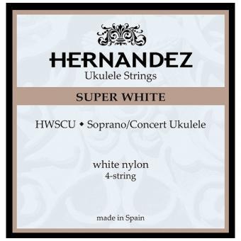Hernandez HWSCU Super White Ukulele Saiten