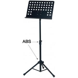 GEWApure Orchester-Lochpult schwarz F900720