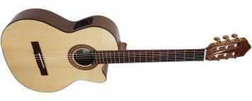 Kirkland Sol-CE Konzertgitarre mit Tonabnehmer