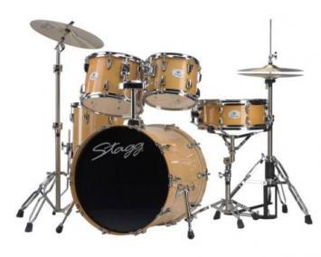 Stagg Schlagzeug TIM620LF-N Drumset