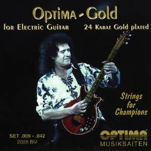 Optima 2028BM Brian May Saitensatz E-Gitarre