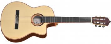 Artesano Nuevo Brillante Cut E-Akustik Konzertgitarre