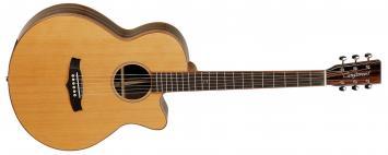Tanglewood JAVA E-Akustikgitarre JSFCE NAT
