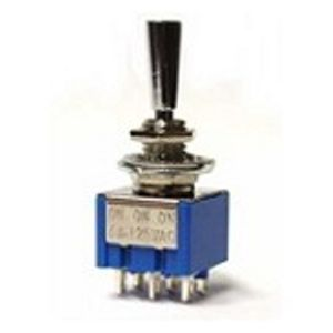 Mini Toggle Switch DP3T ON-ON-ON 6Pins