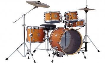 Dixon Jet Set Plus Schlagzeug-Set Orange Sparkle