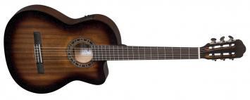 Ortega RCE158SN-TSB Konzertgitarre, Tonabnehmer