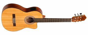 Stagg SCL70 TCE Nat E-Akustik Konzertgitarre