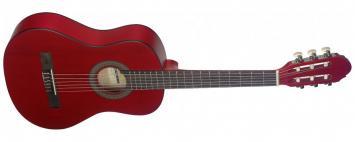 Stagg C410M RED Konzertgitarre 1/2 Größe