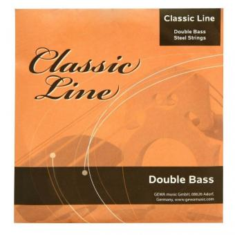 GEWApure Classic Line Saitensatz 3/4 Kontrabass