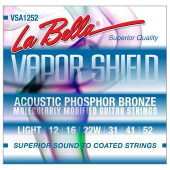 La Bella Vapor Shield Acoustic Strings L VSA1252