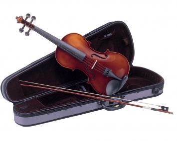 Carlo Giordano VL112 Violinen Set 1/2 Größe