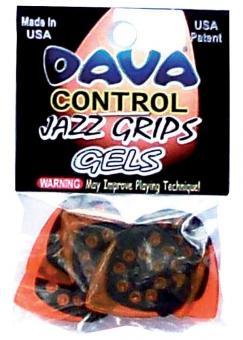 DAVA Plec-Set Jazz Grip Gels Hang Bag (6)