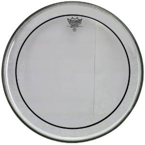 "REMO PS-1324-00 Bass Drum Head 24"" Pinstripe clear"