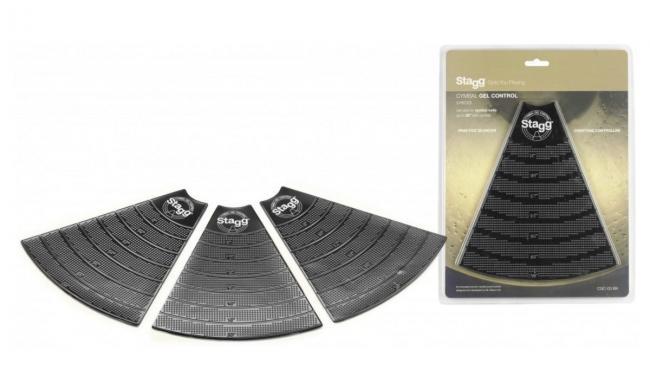 Stagg CGC-03 BK Cymbal Gel Dämpfer Pads