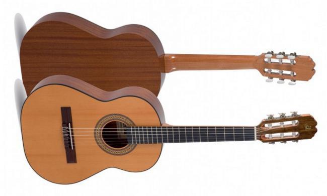 Admira Fiesta Konzertgitarre 7/8 Größe