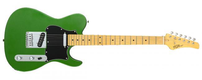 FGN E-Gitarre Boundary Iliad Hyla Green Metallic
