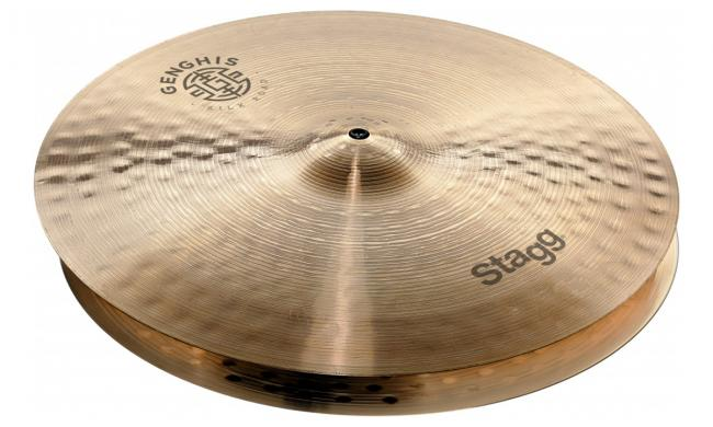 "Stagg DH-HM14B Medium HiHat 14"" brilliant"