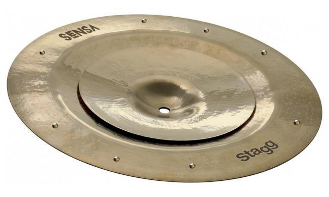Stagg SEN-STA0814 ZZ  China + Splash Stack