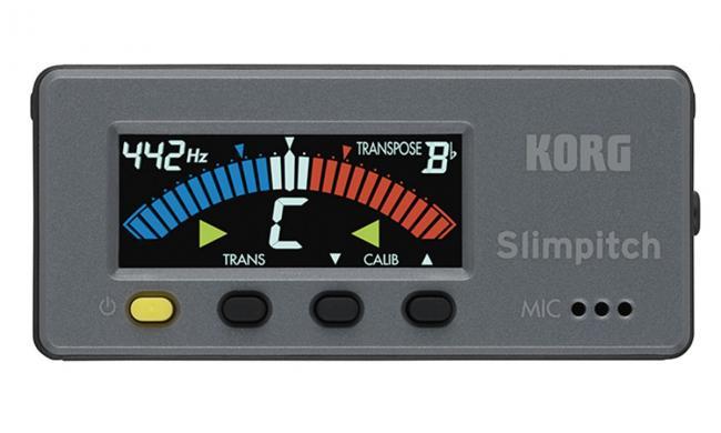 KORG SLM-1CM SlimPitch Chromatic Tuner