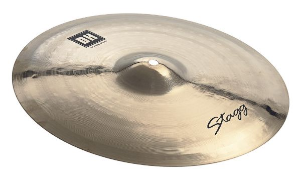 "Stagg DH-CRH16B Heavy Rock Crash Becken 16"" brilliant"